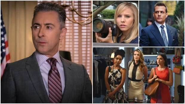 Spoiler, The Good Fight, Suits, iZombie, Veronica Mars, The Bold Type