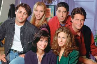 Friends pôster HBO Max