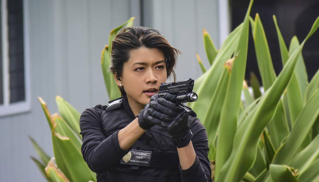Imagem da atriz Grace Park na série Hawaii Five-0