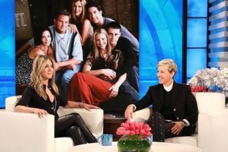 Jennifer Aniston fala sobre reunião de Friends na Ellen