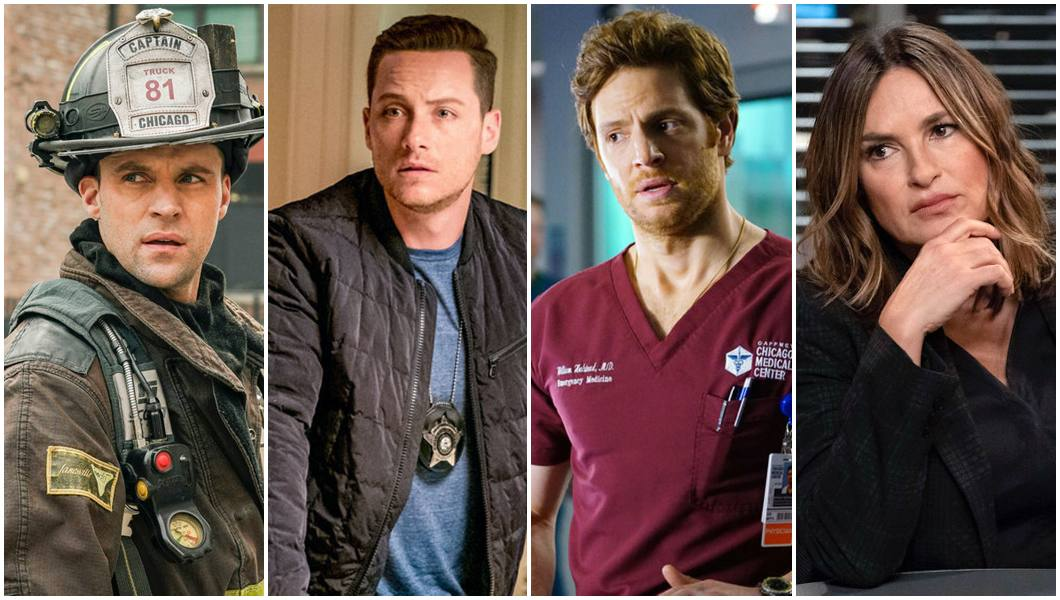 Chicago Fire, PD e Med renovadas