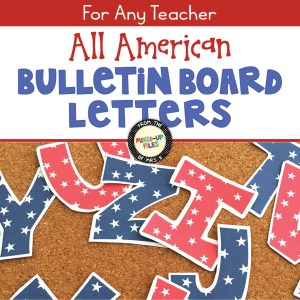 All American Bulletin Board Letters