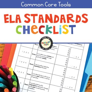 ELA Standards Checklist for Grades 5-12