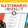 ELA Standards Checklist for Grade 8