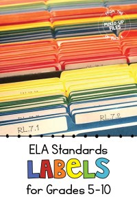ELA Standards Labels