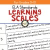 ELA Learning Scales for Grades 9-10