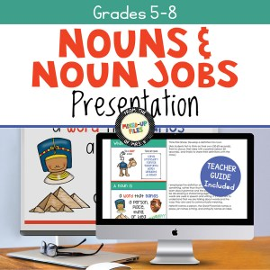 Nouns and Noun Jobs Slideshow Presentation