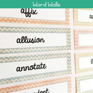 Word Wall Sets