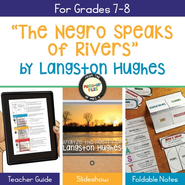 "Langston Hughes ""The Negro Speaks of Rivers"""