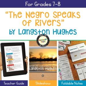 "Langston Hughes ""The Negro Speaks of Rivers"""