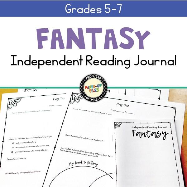 Fantasy Independent Reading Journal