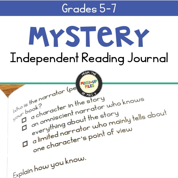 Independent Reading Journal Mystery