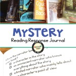 Mystery reading response journal