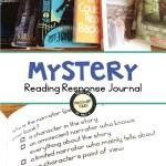Mystery reading response journal