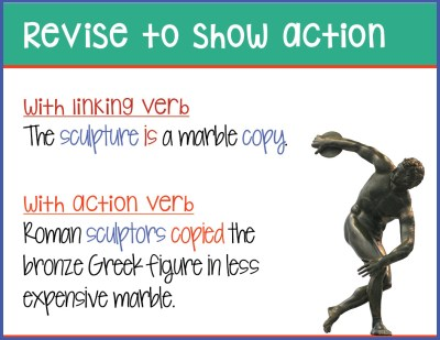 sample slide - revise to show action