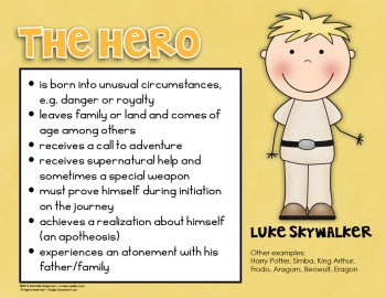 The Hero example poster