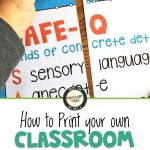 How to print your own classroom posters