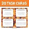 20 compound sentences task cards