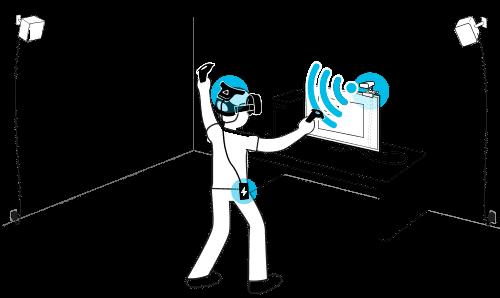 HTC Vive & Vive Pro: Wireless-Adapter im Test