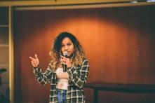 Desiree McKenzie performing. Photo credit: Shelby Lisk