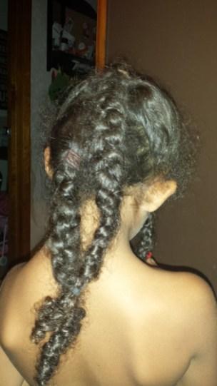 Crazy long weekend hair