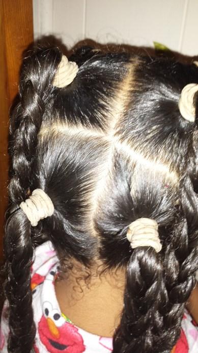 New Week New Hair Tutorial - by The Mixed Mama Blog