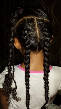 Mid-Week HairStyle Remix - by the Mixed Mama Blog