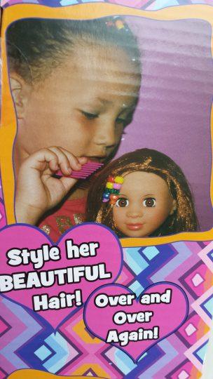 Kenya Doll Review by the Mixed Mama Blog