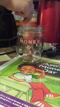 Ayo's Money Jar written by Charlene Hill Fadirepo and Illustrated by Aniekan Udofia _ Money Jar Activity 3