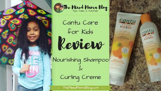 Cantu Care for Kids Review_Nourishing Shampoo and Curling Creme