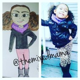 Book Illustrations Preview by The Mixed Mama Blog