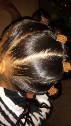 Braids and Beads Mohawk Tutorial by The Mixed Mama Blog