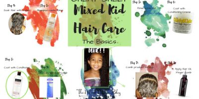 Cheat Sheet for Mixed Kid Hair Care - The Basics _ Blog Cover