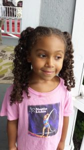 One Hairstyle Multiple Looks - 4 Hair Sections - by Mixed Family Life _ loose curls