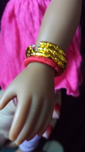 Heart for Hearts Girls - Nahji Doll by Mixed Family Life _ Bangles Close up