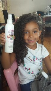 Bonsai Kids Curl Revival Spray - Photo by Mixed Family Life - Biracial Hair Care