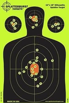 Silhouette Shooting Target