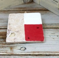 How To Make Texas Tile Coasters - Mixed Kreations