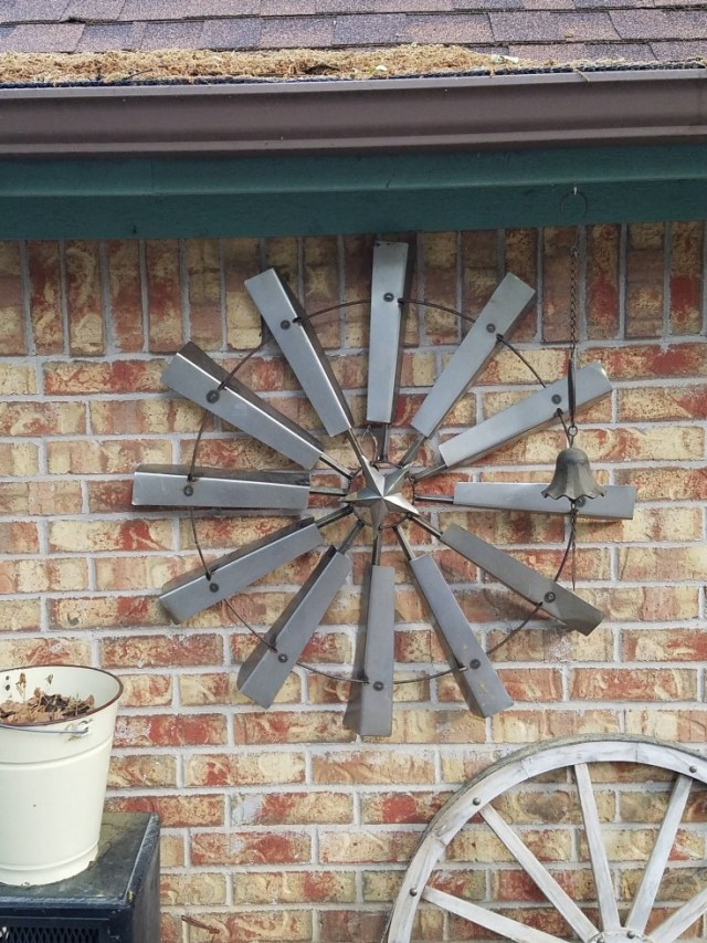 Wimberley Trip, and Junkin at Antique Alley | windmill blades