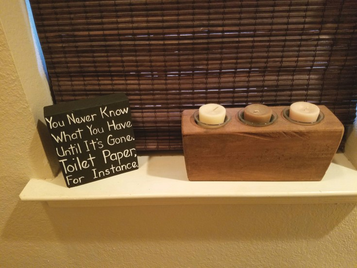 Easy Diy Wood Signs, bathroom sign
