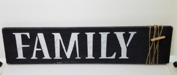 How to Make a Family Photo Display Sign