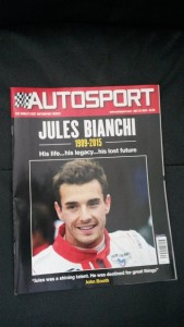 Autosport on the death of Jules