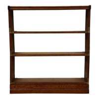 Oak Stackable & Foldable Bookcase - Mixed Modern Furniture ...