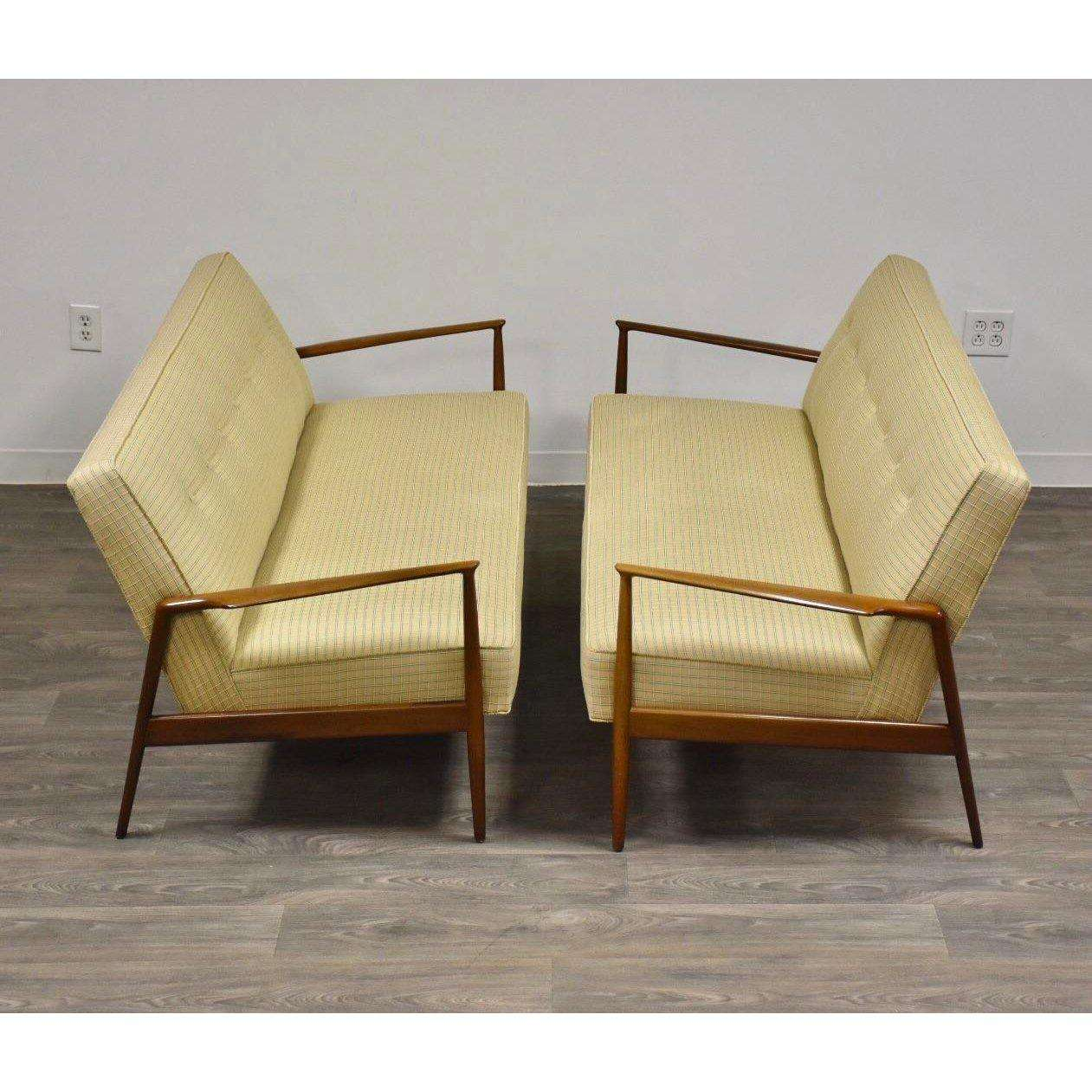 Selig Chair Ib Kofod Larsen For Selig Sofas A Pair