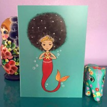 black greeting cards