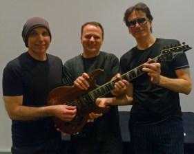 Musician: Joe Satriani, Dean Barradell and Steve Vai