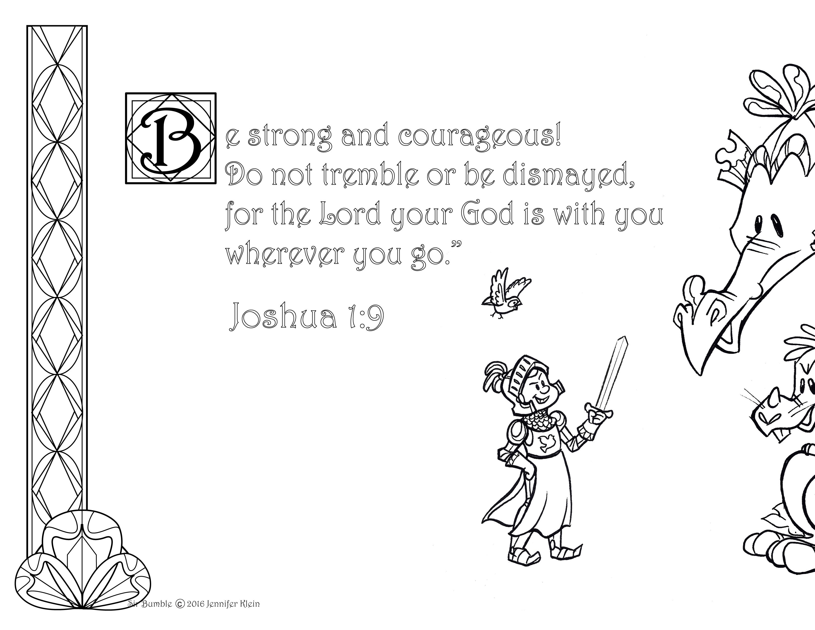 Mommy & Me Mondays: Joshua 1:9