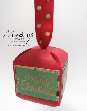 Christmas Decorations with Matching Gift Box