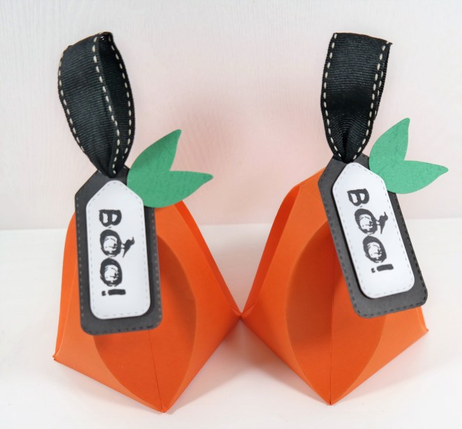 Pumpkin Trick or Treat Boxes