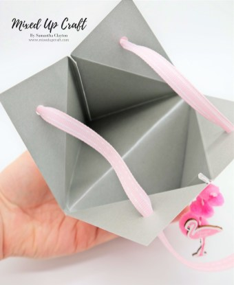 How to make a Pyramid Gift Bag in many sizes.